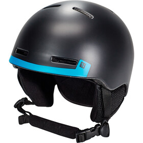 Salomon Grom Helm Kinder black
